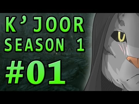 Dark Plays: Skyrim With K'joor Season 1 [01] - a Cat In Riverwood video