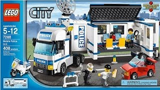 LEGO 7288 Mobile Police Unit City Police (Instruction booklet)