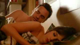 Jess & Nick shoulder KISS the next morning New Girl 2x24 SLOW MOTION Lucius -- Until We Get There