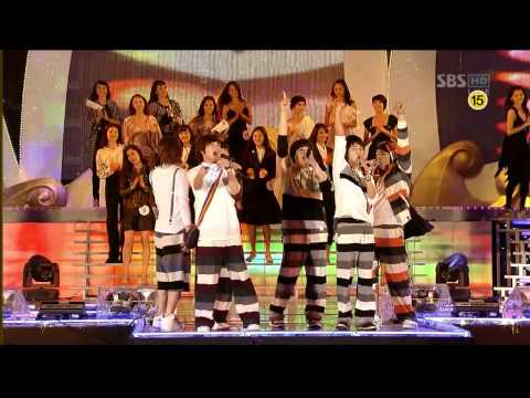 080919 Super Junior - Happy  super Model Contest 08 .sj-h. Pajama Party. [yesungmelody].avi video