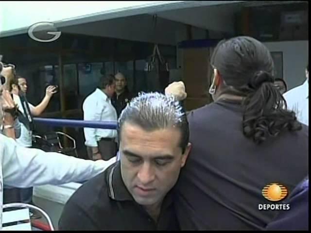 AAA: Cibernético, Konnan encounter, aired 2009/11/22