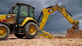 The Cat® 440 and 450 Backhoe Loaders at Work