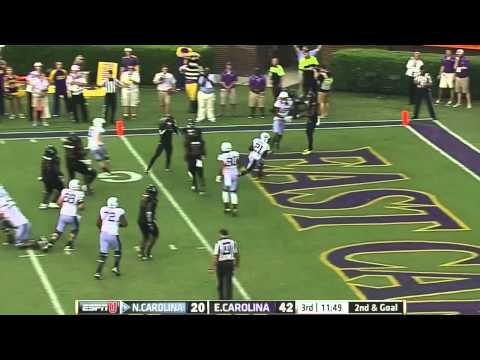 UNC Football: Highlights vs. ECU