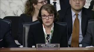 Feinstein speaks at Senate Judiciary Committee Hearing on Parkland, Fla. shooting