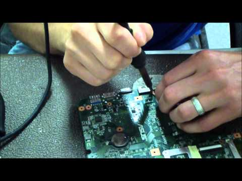 Asus K53   A53   X53   K53E How To Soldering Tutorial for DC Power Jack Repair