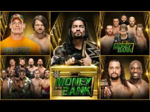 WWE Money in the Bank 2016 Full Show Highlight HD streaming vf