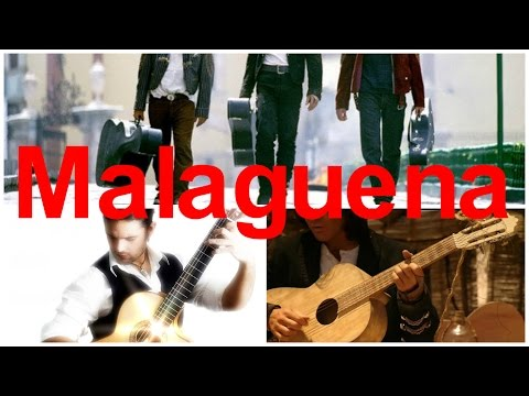 Malaguena - не сложная испанская тема (разбор)