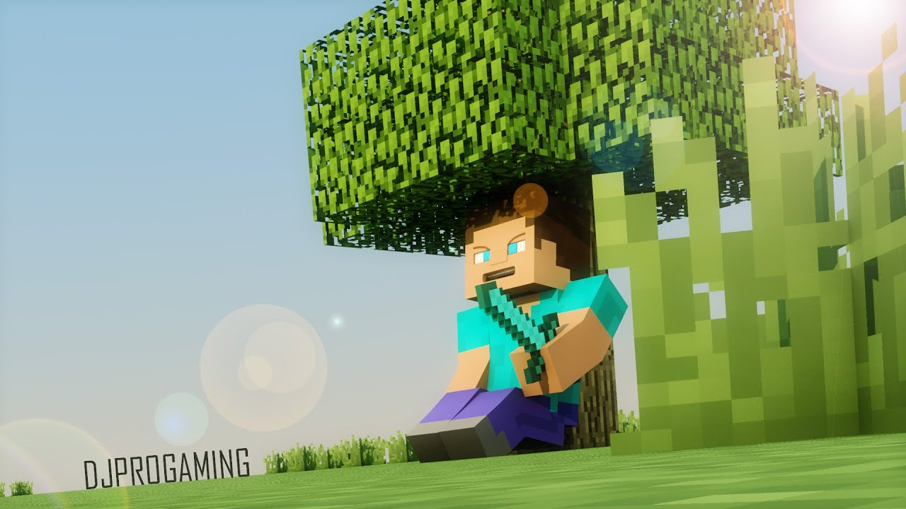 Minecraft Avec Cinema 4d