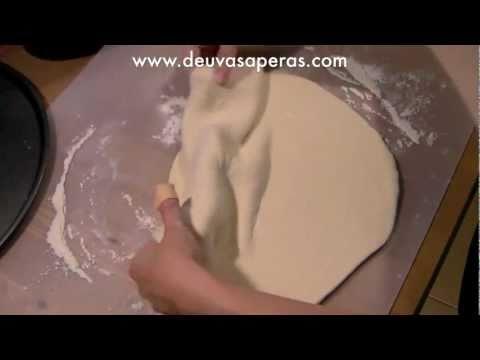Como Hacer Masa de Pizza Casera Italiana - Recetas de Pizza Casera