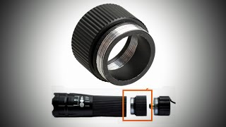 Unbox Flashlight Adapter 3*AAA-to-1*18650