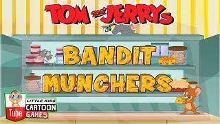 TOM EN JERRY GAMES - BANDIT MUNCHERS. Fun Tom and Jerry 2019 Games. Babygames