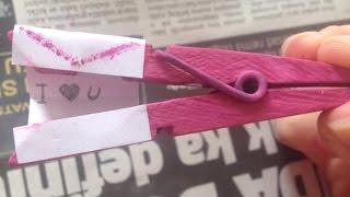Decora Pinzas De La Ropa Para San Valentín - Hazlo Tu Mismo Manualidades - Guidecentral