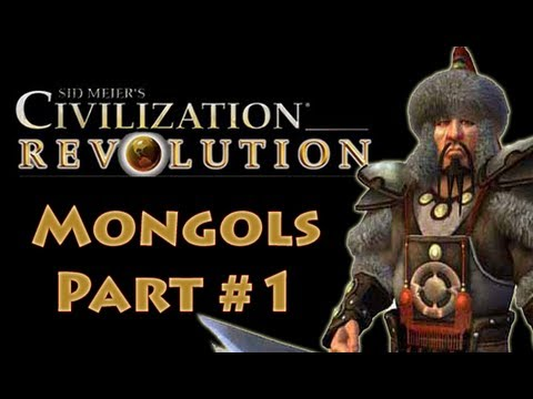 Civilization Revolution Mongols 1 Gameplay Tutorial On Deity (let's Play) video