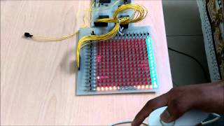 Space Invaders on an LED matrix with arduino