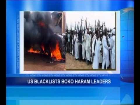 US Blacklists Boko Haram Leaders