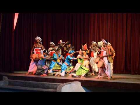 エンディング。キャンディアン・ダンス 【スリランカ Sri Lanka ශ්රී ලංකාව】