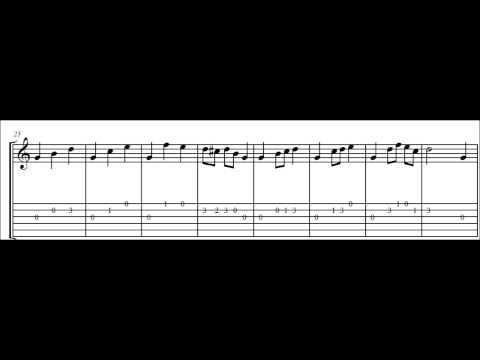 Fernando Sor - Op. 60 - No 2 (study In C Major)
