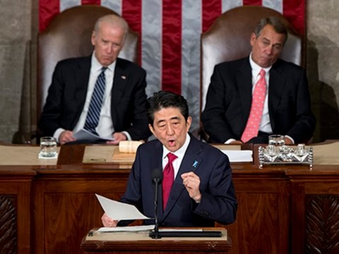 Abe Offers WWII Condolences in Historic Speech