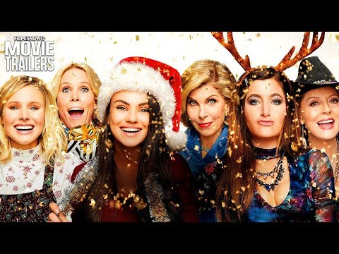 A Bad Moms Christmas | Clip And Trailer Compilation For Christmas Comedy Movie