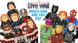 LEGO® Captain America: Civil War Team Captain America vs Team Iron Man? Which Side Are You On?