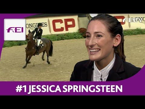 #1 Jessica Springsteen | Lexington | Longines FEI World Cup™ Jumping 2016/17 NAL | Open Jumper