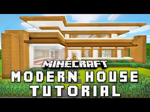 Minecraft Tutorial:  How To Build A Modern House (Part 1 Layout And Design)