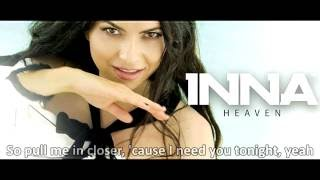 Heaven - INNA (Lyrics)