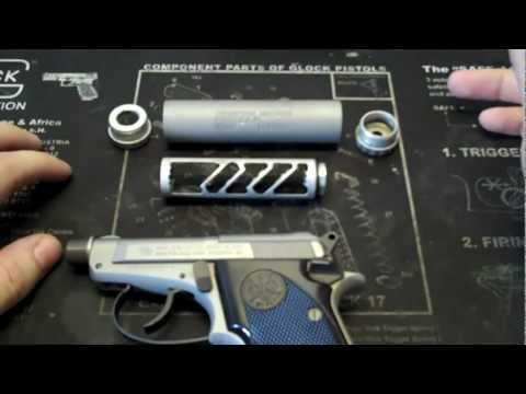 Beretta 21a Bobcat + TM WASP silencer Video Review