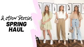 & OTHER STORIES HAUL / 10 Spring Outfit Ideas / Spring Haul 2020 / Sinead Crowe