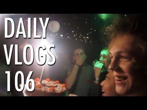 Caspar's Bday Party! | Louis Cole Daily Vlogs 106