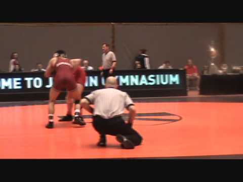 EIWA: Dake (Cornell) dec. Peppleman (Harvard), 157 lbs. finals