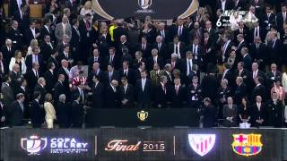 Copa Del Ray Final 2014/2015 Celebrations | Athletic bilbao vs Barcelona | 30-05-2015