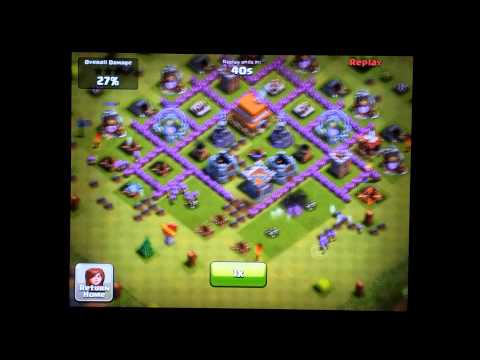 Clash of Clans Town Hall Level 6 Defense - Funneling