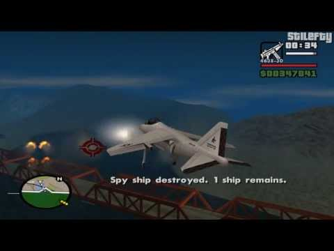 GTA San Andreas - Mission #93 - Vertical Bird