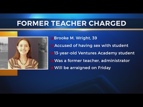 Former Ventures Academy Teacher Accused Of Having Sex With Student - Indicted On Charges