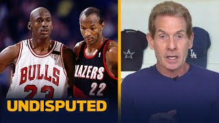 Skip reacts to Clyde Drexler's comments about Jordan not playing a team game | NBA | UNDISPUTED