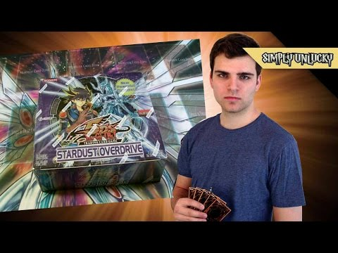 Best Yugioh 5ds Stardust Overdrive Booster Box Opening Ever! video