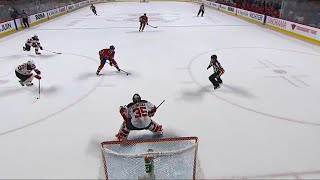 Hudon shovels puck to Plekanec, beats Schneider in overtime