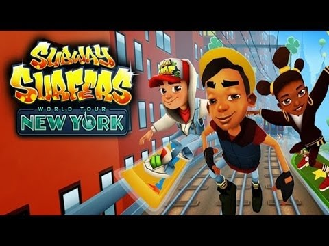 Subway Surfers: New York - Samsung Galaxy S3 Gameplay