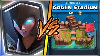 NIGHT WITCH TROLLING ARENA 1 IN CLASH ROYALE | FUNNY MOMENTS & NIGHT WITCH GAMEPLAY!