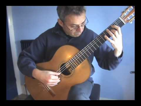 Gilbert Biberian -Sonata No.3. for solo guitar