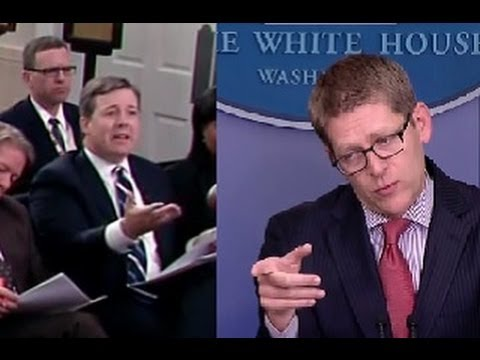 Jay Carney Challenges Ed Henry to a Crossfire Debate In EPIC Briefing Rumble - 9/19/13
