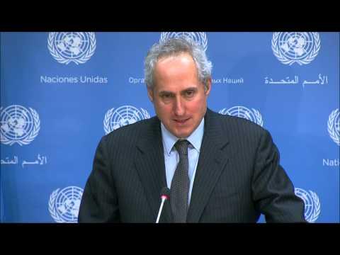 On Haiti Cholera, UN Dodges After Envoy Says