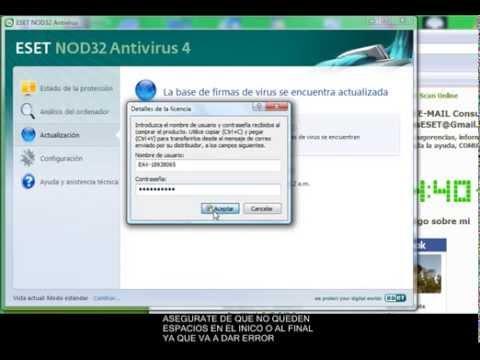 descargar actualizador de nod32 gratis