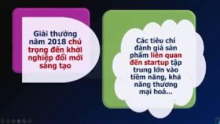 Giải thưởng Công nghệ thông tin - Truyền thông 2018 - Vì thành phố thông minh, đổi mới, sáng tạo