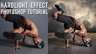 Hard Light Effects in Photoshop - (PSD Box)