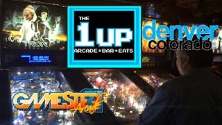 The 1 Up Arcade Bar in Denver, CO walkthrough - Gamester81Arcade
