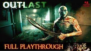 Outlast | Full Playthrough | Longplay Gameplay Walkthrough No Commentary 1080P