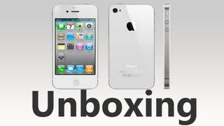 iPhone 4S Unboxing (White) and Setup