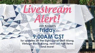 Behind the Seams: Pre-recorded Live! Beginner Series, Farm Girl Vintage 2 | Fat Quarter Shop